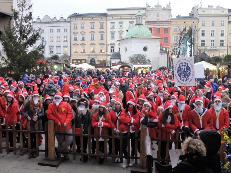 Mikołaj przyjechał do Krakowa Tramwajem