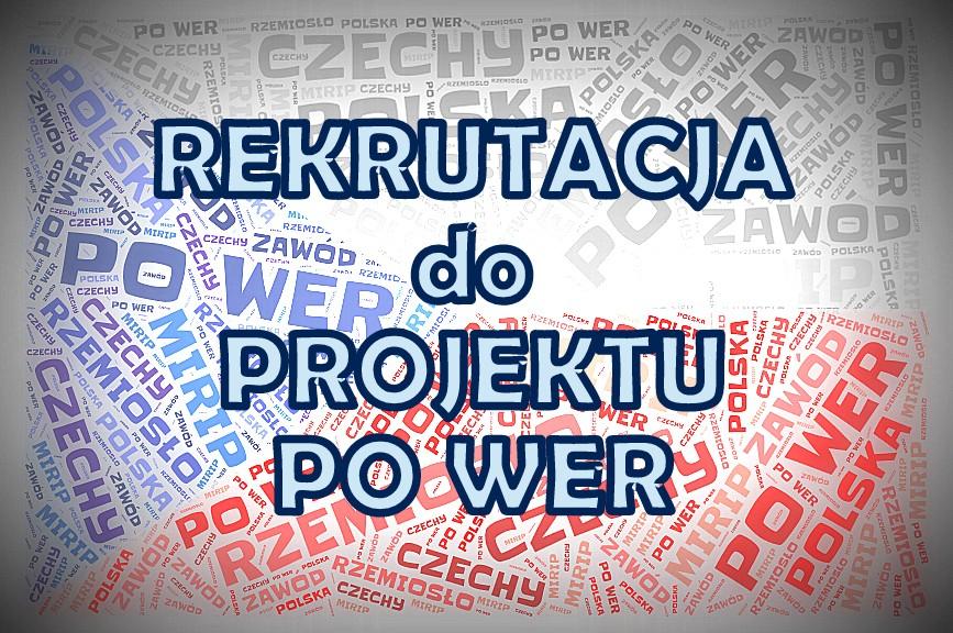PO WER - Czechy. Rusza rekrutacja!